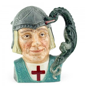 St George D6621 - Small - Royal Doulton Character Jug
