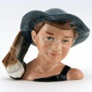 Tom Sawyer D7187 - Small - Royal Doulton Character Jug
