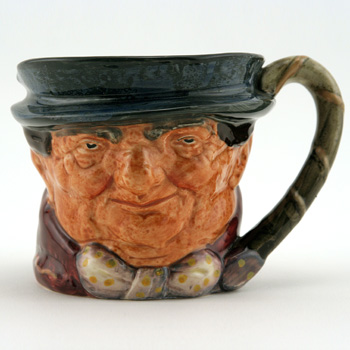 Tony Weller D5530 (Darley and Son Backstamp) - Small - Royal Doulton Character Jug