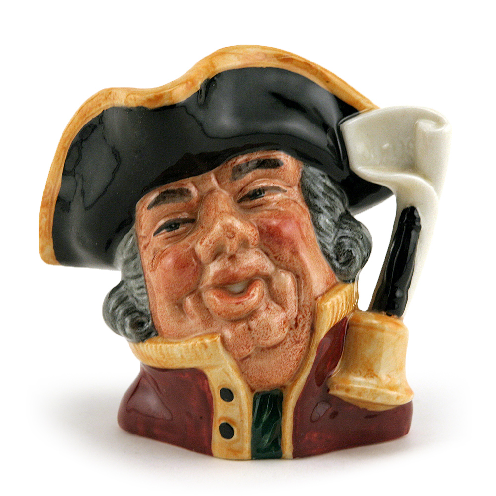 Town Crier D6537 (Bone China) - Small - Royal Doulton Character Jug