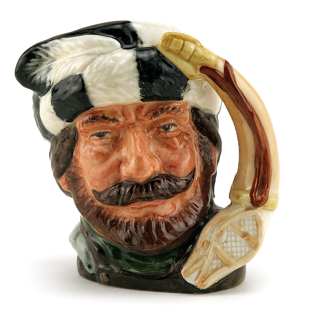 Trapper D6612 (Bone China) - Small - Royal Doulton Character Jug