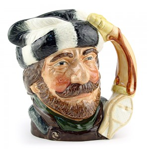 Trapper D6612 - Small - Royal Doulton Character Jug