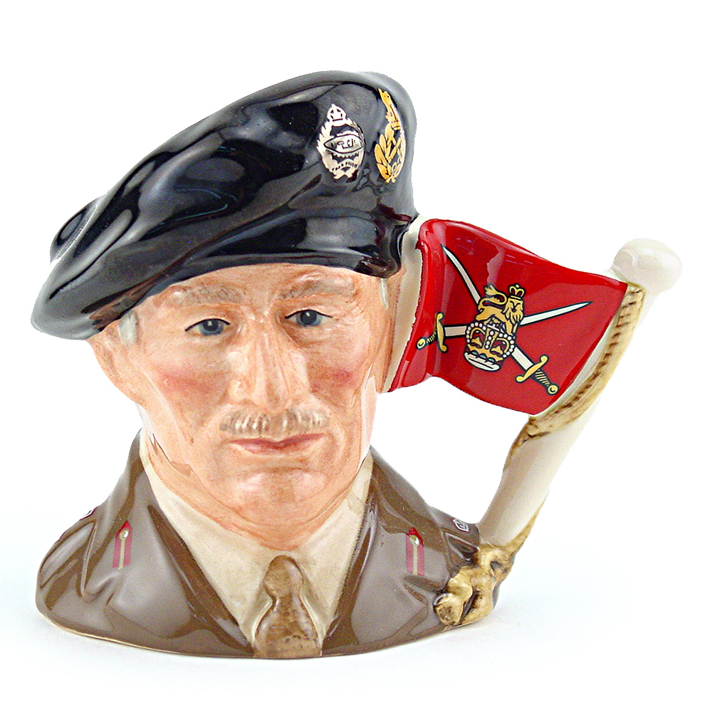 Viscount Montgomery of Alamein D6850 - Small - Royal Doulton Character Jug