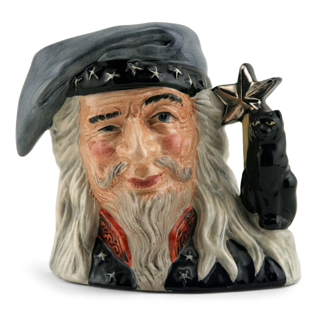 Wizard D6909 - Small - Royal Doulton Character Jug