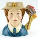 Women's Land Army D7206 - Small - Royal Doulton Character Jug