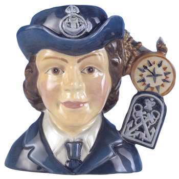 Women's Royal Navy Service D7208 - Small - Royal Doulton Character Jug