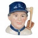 Baseball Player - Britannia Backstamp - Small Character Jug