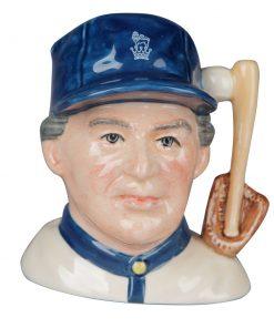 Baseball Player - Britannia Backstamp - Small Character Jug