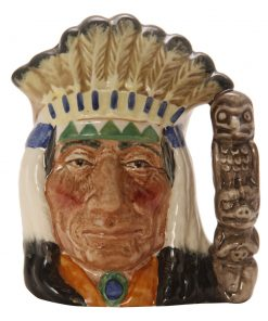 North American Indian CV3 - Small - Royal Doulton Character Jug