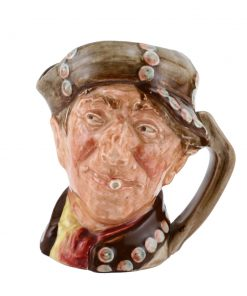 Pearly Boy Brown Buttons - Small - Royal Doulton Character Jug