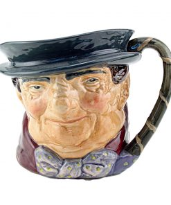 Tony Weller Bentalls Backstamp - Royal Doulton Small Character Jug