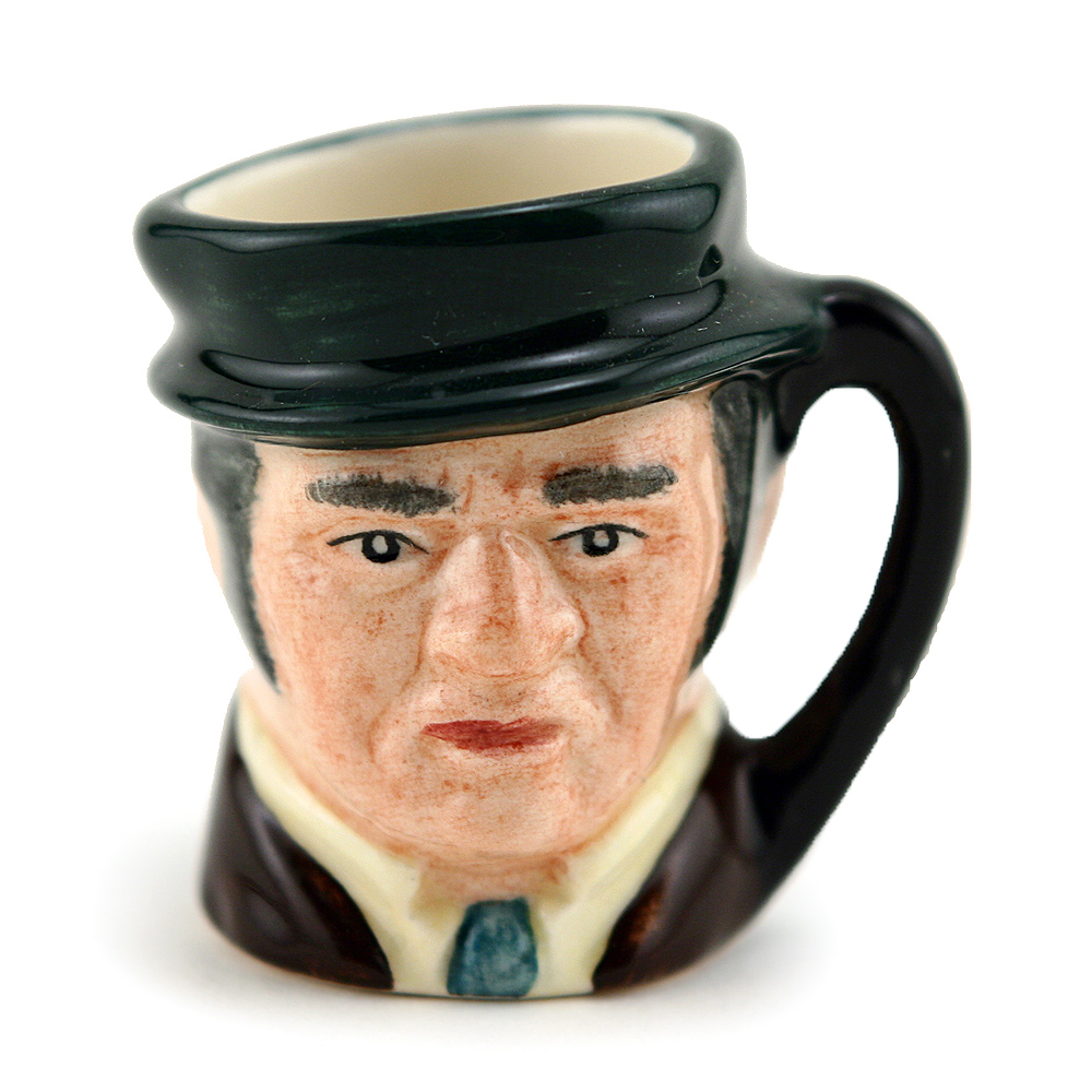 Bill Sykes D6684 - Tiny - Royal Doulton Character Jug