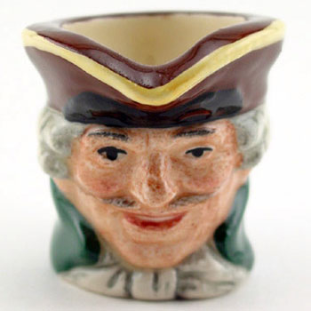 Dick Turpin D6951 - Tiny - Royal Doulton Character Jug