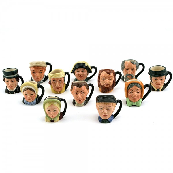 Charles Dickens Commemorative Set (Without Stand) - Tiny - Royal Doulton Character Jug