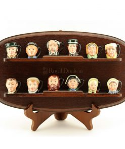 Charles Dickens Commemorative Set (With Stand) - Tiny - Royal Doulton Character Jug