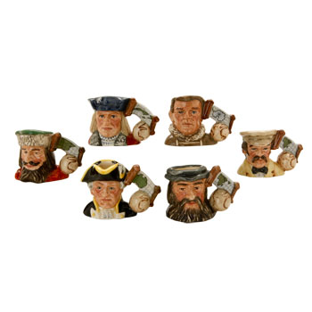EXPLORERS TINY (Without Stand) EXPLORERS SET - Tiny - Royal Doulton Character Jug