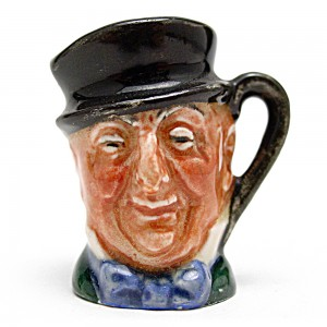 Mr. Micawber D6143 - Tiny - Royal Doulton Character Jug