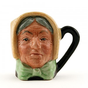 Mrs Bardell D6687 - Tiny - Royal Doulton Character Jug