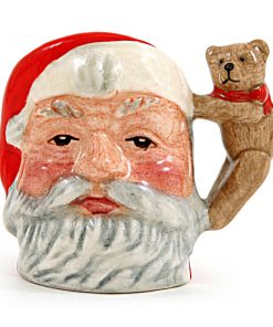 Santa Claus D7060 (Teddy Bear) - Tiny - Royal Doulton Character Jug