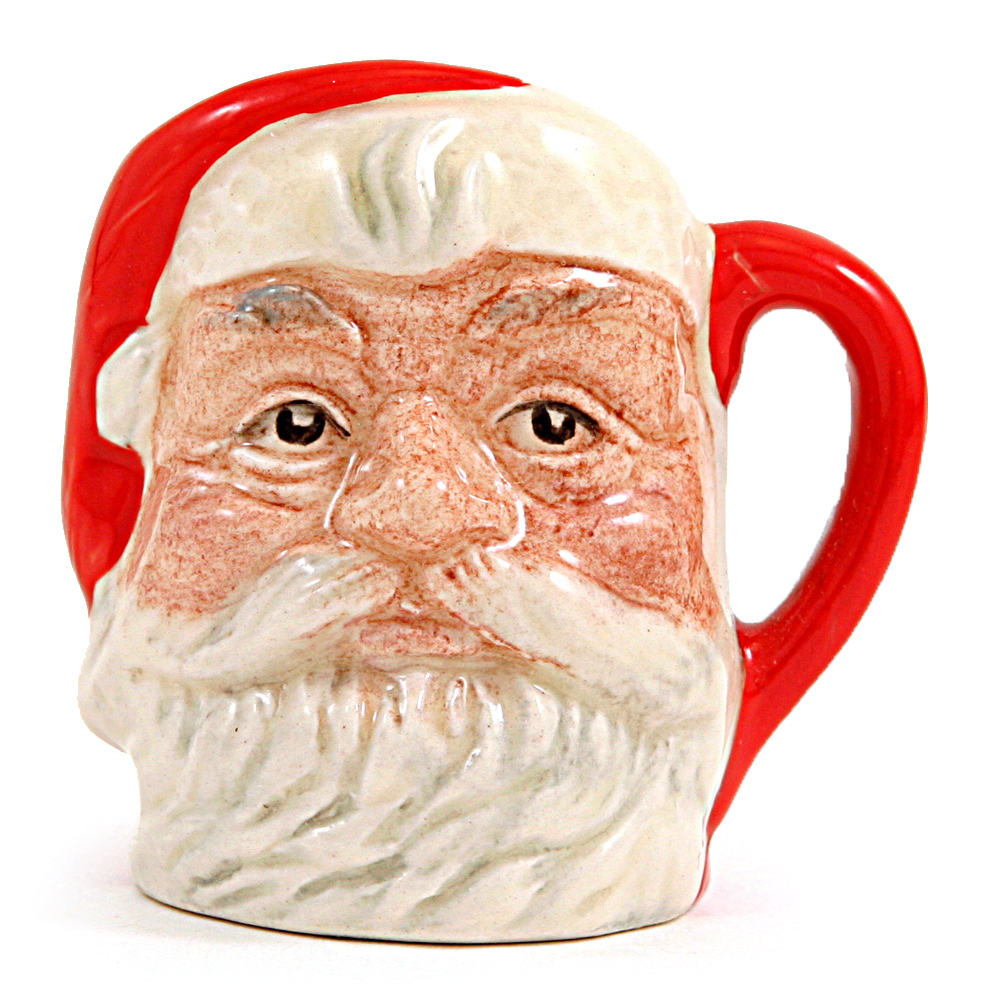 Santa Claus D6950 (Red Handle) - Tiny - Royal Doulton Character Jug