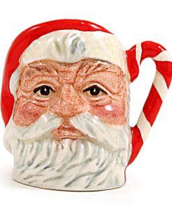 Santa Claus D6980 (Candy Cane) - Tiny - Royal Doulton Character Jug
