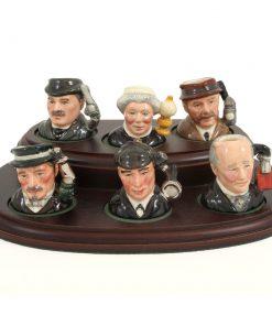 Sherlock Holmes Set - Tiny - Royal Doulton Character Jug