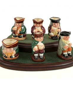 Tiny Tobies Set - Tiny - Royal Doulton Character Jug