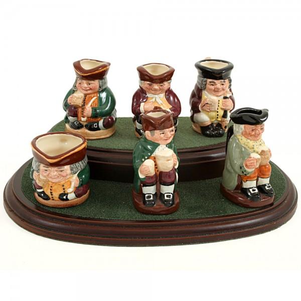 Tiny Tobies Set - Tiny - Royal Doulton Character Jug