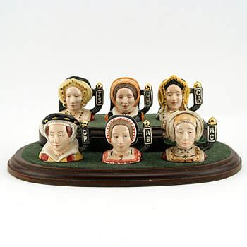 Wives of Henry VIII Set - Tiny - Royal Doulton Character Jug