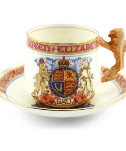 Paragon Cup and Saucer - Royal Doulton Commemoratives