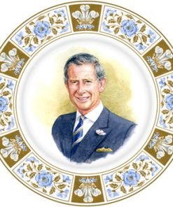 Prince Charles 60th Birthday - Royal Doulton Commemoratives