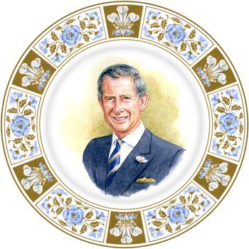 Prince Charles 60th Birthday - Royal Doulton Commemoratives