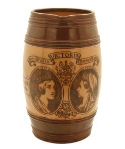 Queen Victoria Pitcher BR2 - Royal Doulton Commemoratives