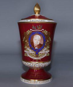 Churchill Vase Lidded Spode