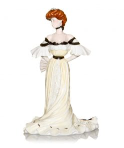 Alexandra at Ball Party - Coalport Figure