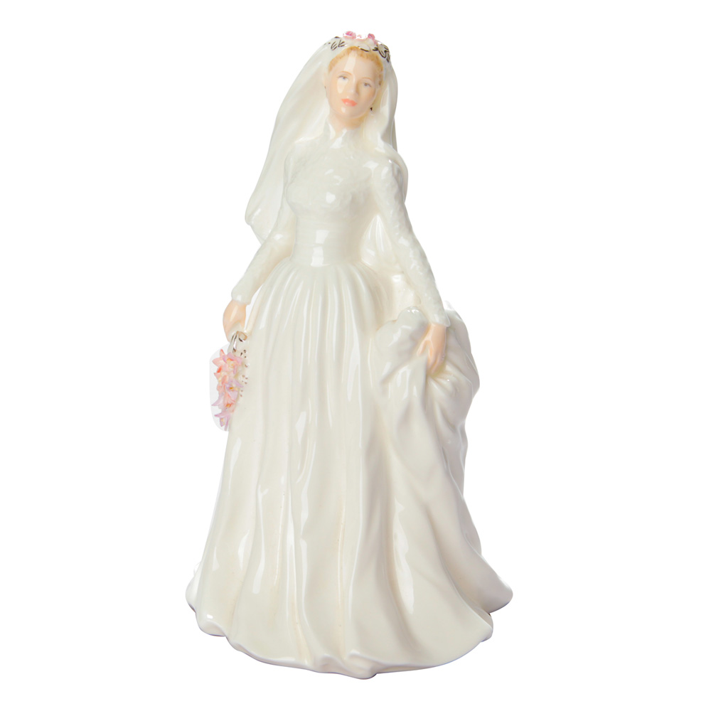 The Millennium Bride - Coalport Figurine