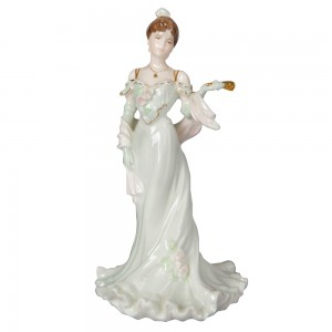 Clementine Debut in Paris - Coalport Figure