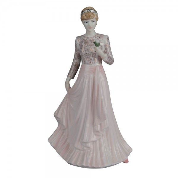 """Diana """"Our English Rose""""  - Coalport Figurine"""