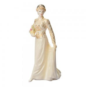 "Diana ""The Jewel in the Crown"" CW464 - Coalport Figurine"