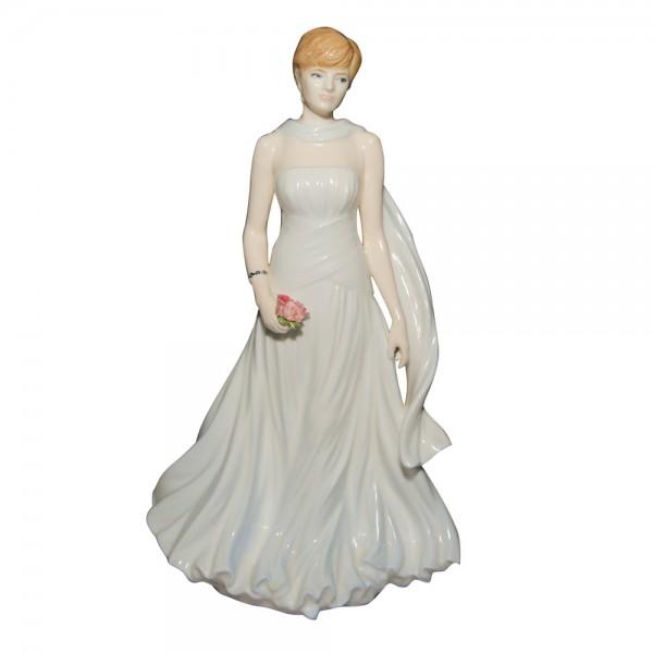 """Diana """"The People's Princess"""" - Coalport Figurine"""