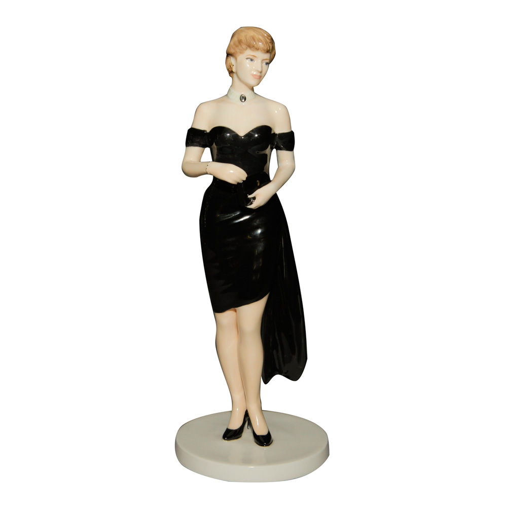 "Diana ""Queen of People's Hearts"" - Coalport Figurine"