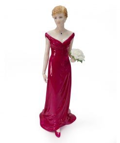 Diana, Queen of Hearts CW822 - Coalport Figure