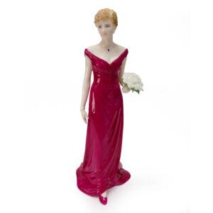 Diana, Queen of Hearts CW822 - Coalport Figure
