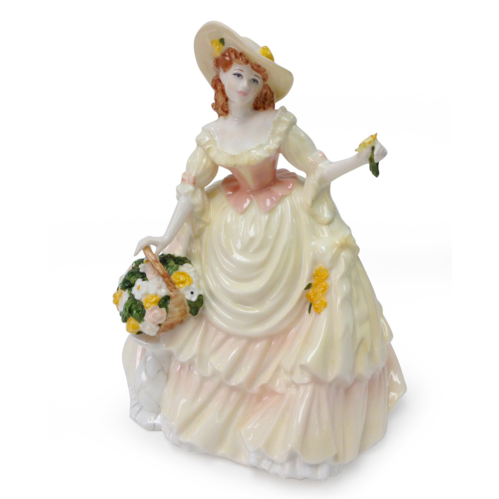 Harvest Gold CW416 - Coalport Figure