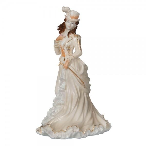 Helena Riding in Hyde Park - Coalport Figure