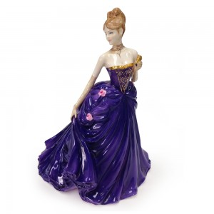 Lady Caroline at the Opera - Coalport Figure
