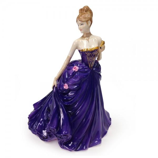 Lady Caroline at the Opera - Coalport Figure