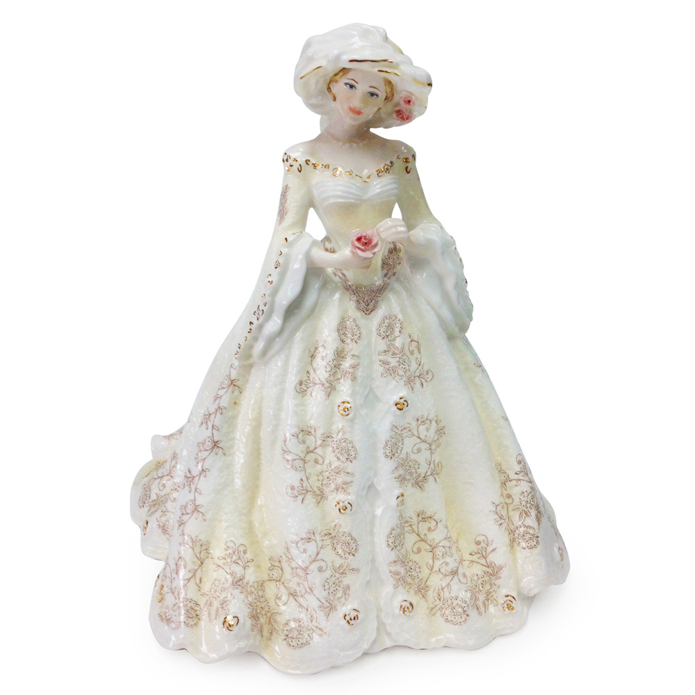 Louisa - The Royal Garden Party CW642 - Coalport Figure