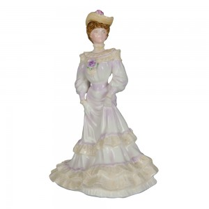 Louisa at Ascot - Coalport Figure