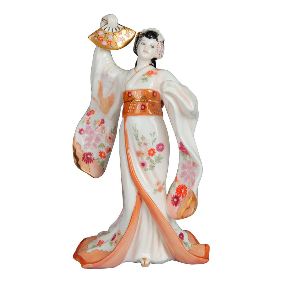Madam Butterfly - Coalport Figurine